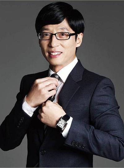 MC Yoo Jae Suk.