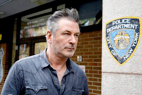 Alec Baldwin bị bắt ngày 2/11.