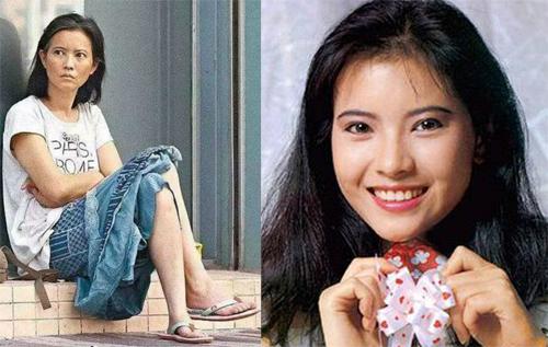 Diễn viên Lam Khiết Anh thời trẻ và ở tuổi xế chiều.