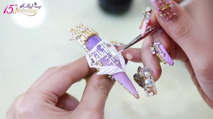 Quy trình thiết kế bộ nail 100.000 USD của nghệ nhân Pang Mỹ Nguyên