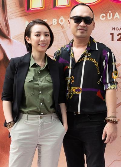Vợ chồng Thu Trang - Tiến Luật đầu tư bản điện ảnh Thập Tam Muội.\
