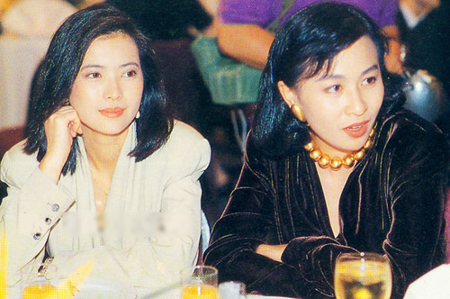 Ảnh Lam Khiết Anh bên các sao Hong Kong gây chú ý - 2