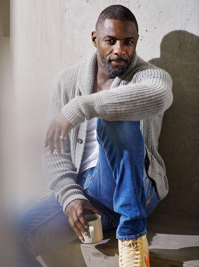 Idris Elba trên tạp chí People.