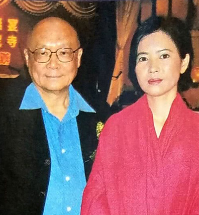 Luật sư Tăng Quyền Uy và Lam Khiết Anh.