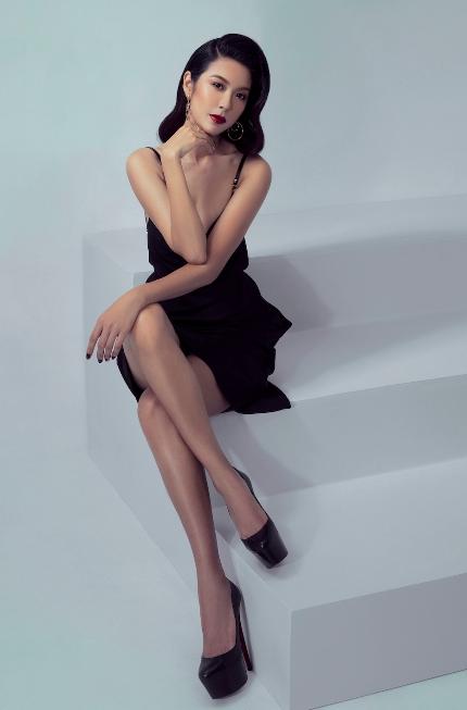 Thúy Vân trong bộ ảnh thời trang mới.