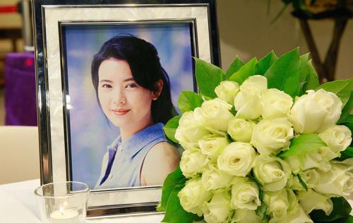 Diễn viên Lam Khiết Anh được phát hiện qua đời hôm 3/11, tang lễ cô diễn ra tại nhà thờ vào tồi 9/11 tại Hong Kong.