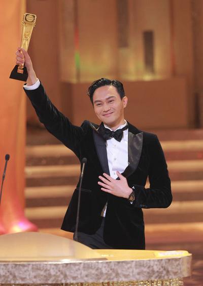 Diễn viên Hong Kong Trương Trí Lâm.