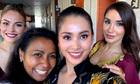 Tiểu Vy hát 'Lạc trôi' trong phần thi Tài năng của Miss World