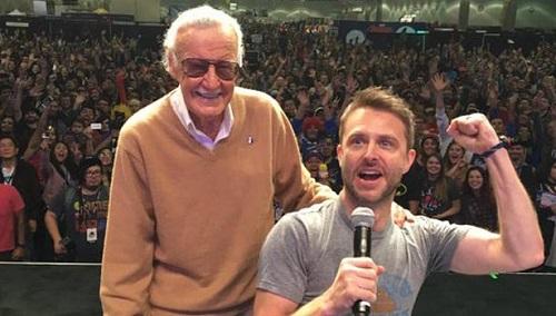 Stan Lee ở một lễ hội truyện tranh tại Los Angeles (Mỹ).