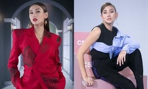 Thời trang biến hóa của Võ Hoàng Yến trên ghế 'nóng' The Face