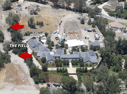 Hình ảnh biệt thự nhà Kim. Ảnh: X17.