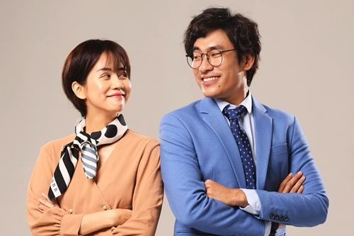 Kiều Minh Tuấn (phải) và An Nguy trong phim Chú ơi đừng lấy mẹ con.