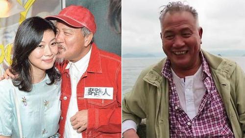 Vạn Tử Lương và vợ. Nam diễn viên năm nay 61 tuổi.