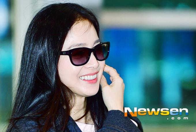 Kim Tae Hee đến Hà Nội