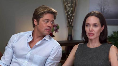 Angelina Jolie và Brad Pitt đàm phán riêng để không ảnh hưởng tới con cái. Ảnh: Today.