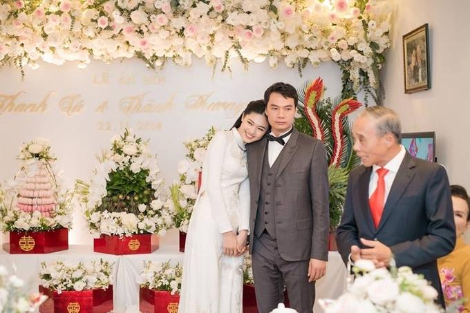 Chú rể doanh nhân cao 1,82 m của Á hậu Thanh Tú