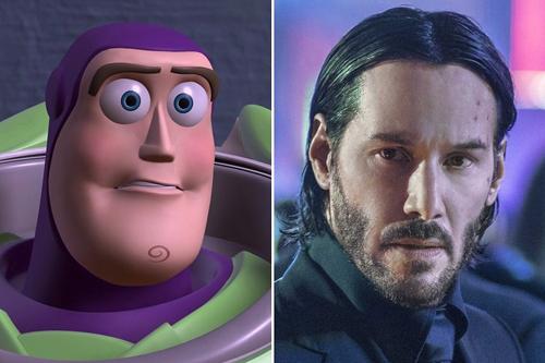 Nhân vật của Keanu Reeves được cho là giống Buzz Lightyear.