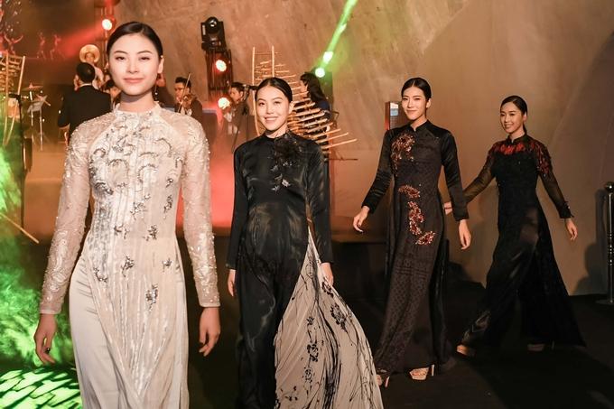 Hoa hậu Kỳ Duyên, Huyền My mặc thanh lịch đi xem thời trang