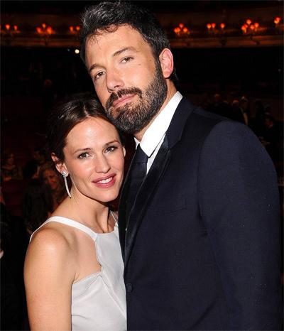 Ben Affleck và Jennifer Garner vẫn duy trì tình bạn sau ly hôn. Ảnh: Rex.