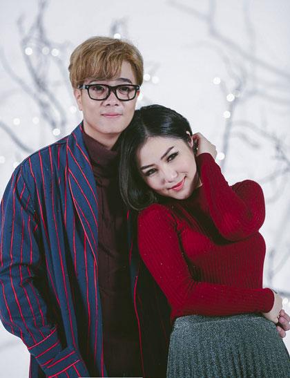 Bui Anh Tuấn và Hương Tràm.