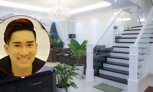 Biệt thự 20 tỷ đồng mới mua của Quang Hà