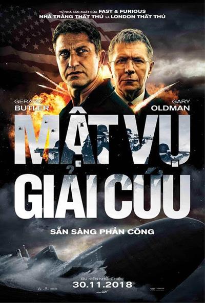 Phim ra rạp tại Việt Nam vào cuối tháng 11.