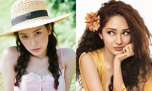 Chi Pu (trái) và Bảo Anh không được đánh giá cao về giọng hát nhưng có nhiều sản phẩm gây chú ý.