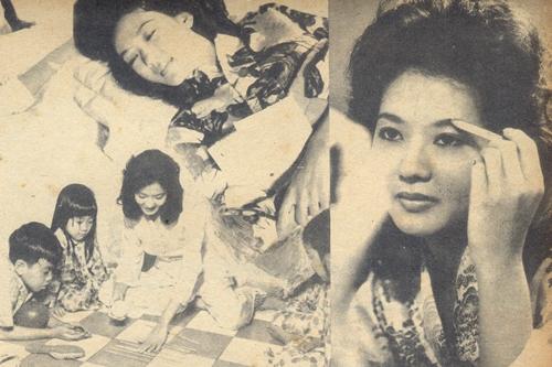 Thanh Nga năm 1961. Càng trưởng thành, cố danh ca càng được ngưỡng mộ về nhan sắc, với nhiều nét đẹp được thừa hưởng từ mẹ.