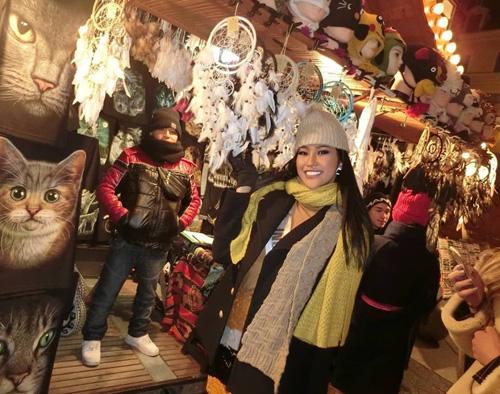 Hoa hậu Indonesia - Wilda Octaviana Situngkir - năm nay 23 tuổi, cao 1,73 m.