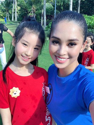Với phần thi Người đẹp nhân ái, Tiểu Vy thực hiện dự án Mang nước sạch về với bản Nịu. Đây là một trong những phần thi quan trọng tại Miss World và công bố kết quả trong đêm chung kết.