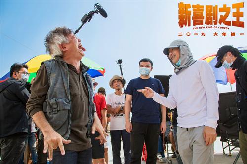 Châu Tinh Trì trên trường quay Tân hỷ kịch chi vương.