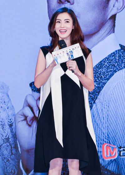 Trương Bá Chi tại sự kiện hồi tháng 5.