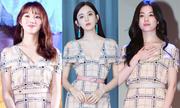 Các mỹ nhân châu Á so phong cách khi đụng váy hiệu