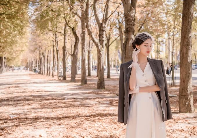 Vợ chồng Á hậu Thanh Tú chụp ảnh cưới ở Paris