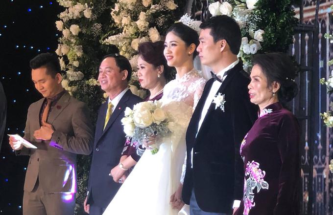Dàn người đẹp hội tụ trong tiệc cưới của á hậu Thanh Tú