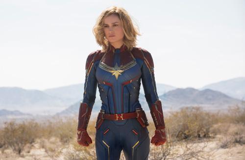 Tạo hình của Brie Larson trong phim.