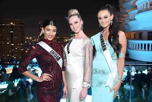 Dàn hoa hậu Miss Universe mỗi người một phong cách.