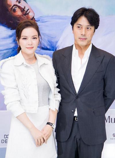 Lý Nhã Kỳ và Han Jae Suk.