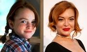 Nhan sắc Lindsay Lohan qua 30 năm