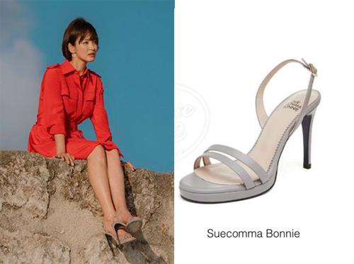 Sandals của Suecomma Bonnie (thương hiệu Hàn Quốc) có giá 328 nghìn won (gần 7 triệu đồng).