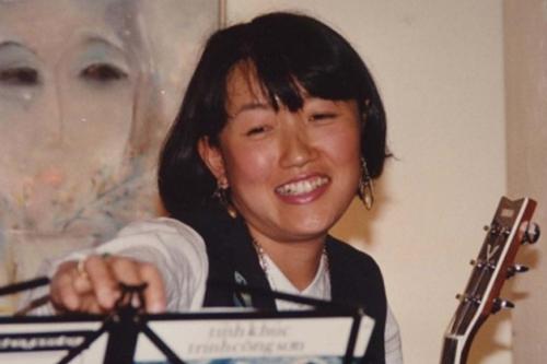 Michiko Yoshii thời trẻ.