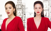 Kỳ Duyên, Jun Vũ diện váy hở ngực đi sự kiện
