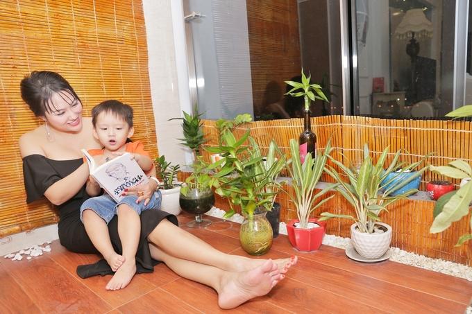 Tổ ấm 200 m2 của bà mẹ đơn thân Phi Thanh Vân