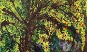 Bốn họa sĩ triển lãm tranh đa chất liệu về thiên nhiên