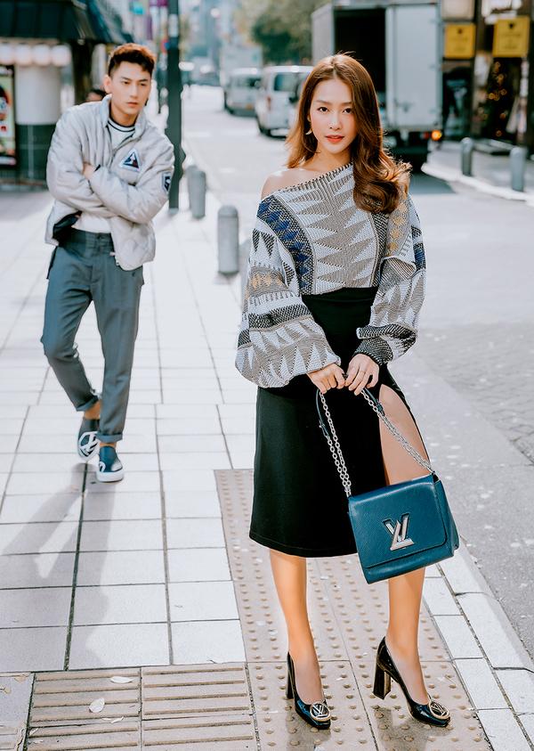 Khả Ngân, Isaac dạo phố Nhật Bản