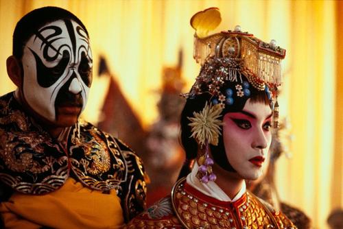 Trương Phong Nghị (trái) và Trương Quốc Vinh trong Bá vương biệt Cơ.