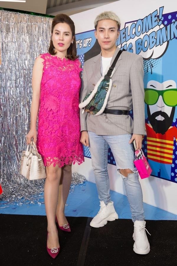 Trương Quỳnh Anh thay ba bộ váy ở sự kiện