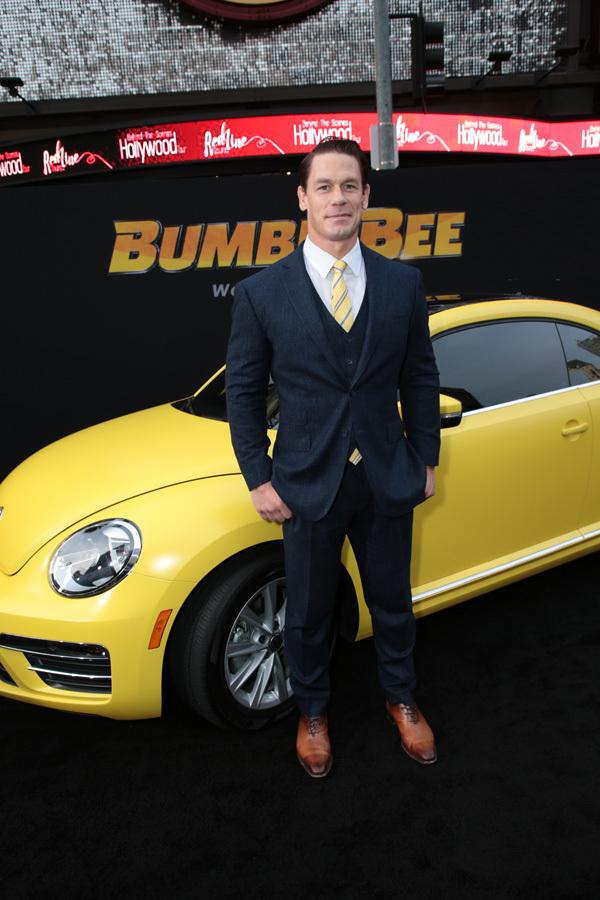 Huyền thoại đô vật John Cena ra mắt phim ở Mỹ