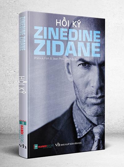 Cuốn Hồi ký Zinedine Zidane.