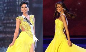H'Hen Niê gợi nhớ Hoa hậu Dayana Mendoza với màn xoay váy